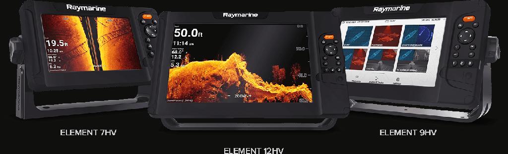Geen DETAIL onopgemerkt – Raymarine Element
