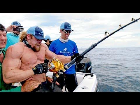 Sterkste man VS sterkste vis
