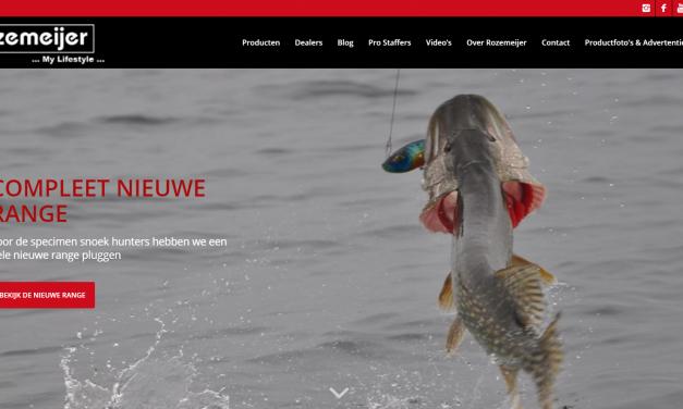 Nieuwe flashy website Rozemeijer