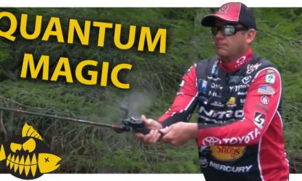 Kevin Vandam met de Quantum Smoke S3 – Gooien zonder afremmen