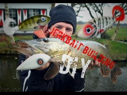 Zelf jerkbaits bouwen en er vis op vangen – How to met Willem Romeijn