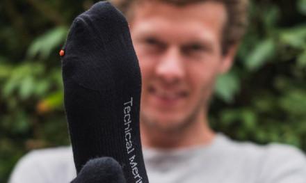 Voor de warme voetjes- De super sokken van Geoff Anderson