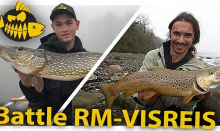 ***Roofmeister VIDEO*** Visreis.nl VS Roofmeister – Wie vangt de grootste snoeken en zeeforellen?