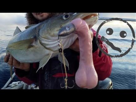 Vissen met een dildo en meer gekkigheid