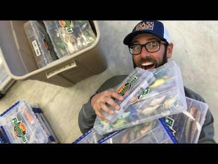 Wie heeft er meer visspullen dan Mike Iaconelli?