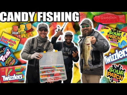 The Candy Challenge – Vissen met… snoep