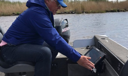 Dit vindt Jouke Jansma belangrijk aan een fishfinder