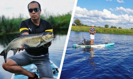 Vissen met een SUP – Een nieuwe rage?