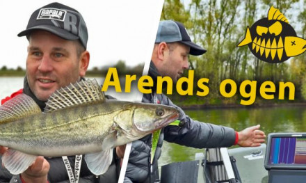 Arends ogen onder water – Lowrance HDS fishfinder