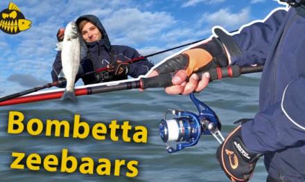 De techniek voor winter zeebaars – Bombetta in de Europoort