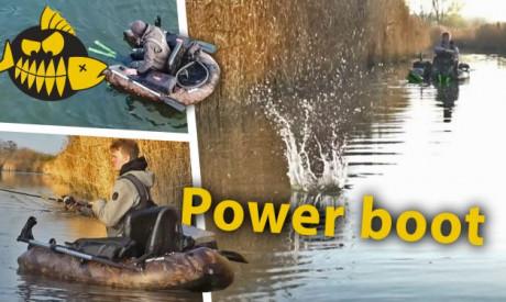 Robuuste, veilige PVC bellyboat – De Hart Guardian