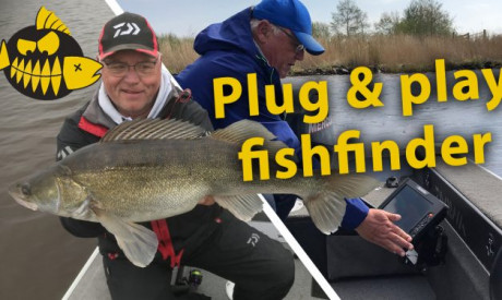Jouke Jansma over de Element – Plug & play fishfinder