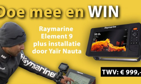 ***WIN een Raymarine Element 9 FISHFINDER***