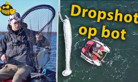 Dropshot set up – Op bot op het Oostvoornse Meer