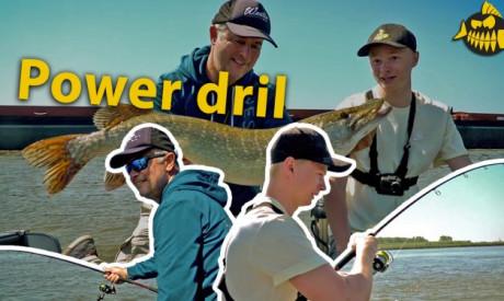 Powervissen op de rivier – Werpen met Luc Coppens & Robert Mastbergen van Wesdijk