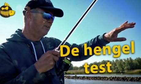 ***VIDEO*** Zo test Luc Coppens een hengel