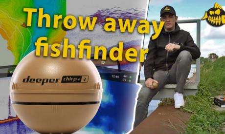 Fishfinder voor de kantvisser – Uitwerpbaar, compact & geavanceerd!